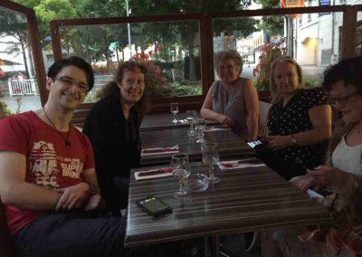 Paris Aug 2016 First Night Meal